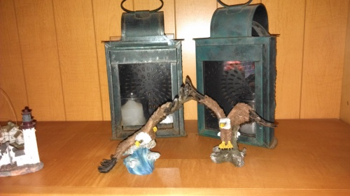 Lenore's eagles and lanterns