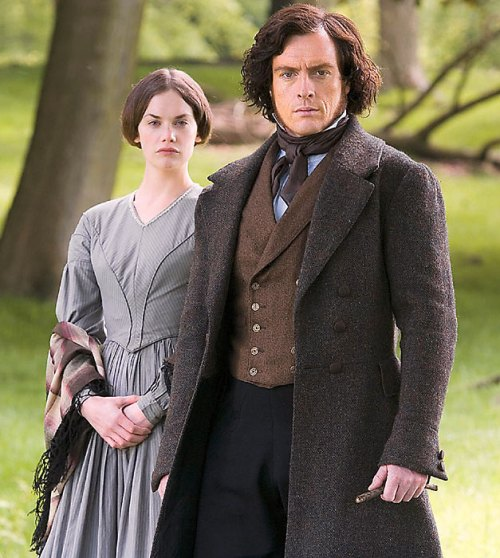 "A ""plain"" heroine, Miss Bronte, really?"