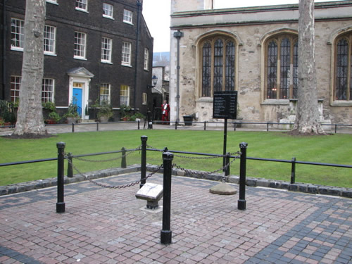 Where Anne Boleyn died